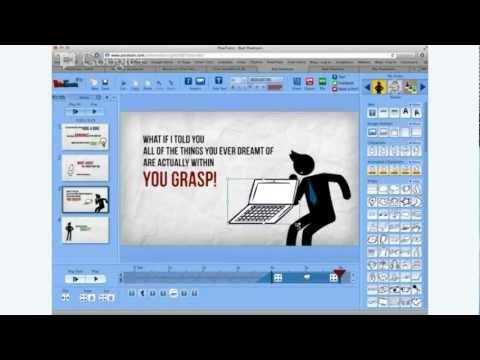 Webinar - Create professional looking presentations using PowToon