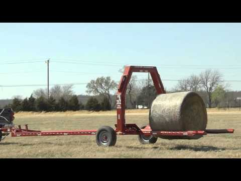 Load and Haul Round Bales with ease with the 2EZ Bail Mover