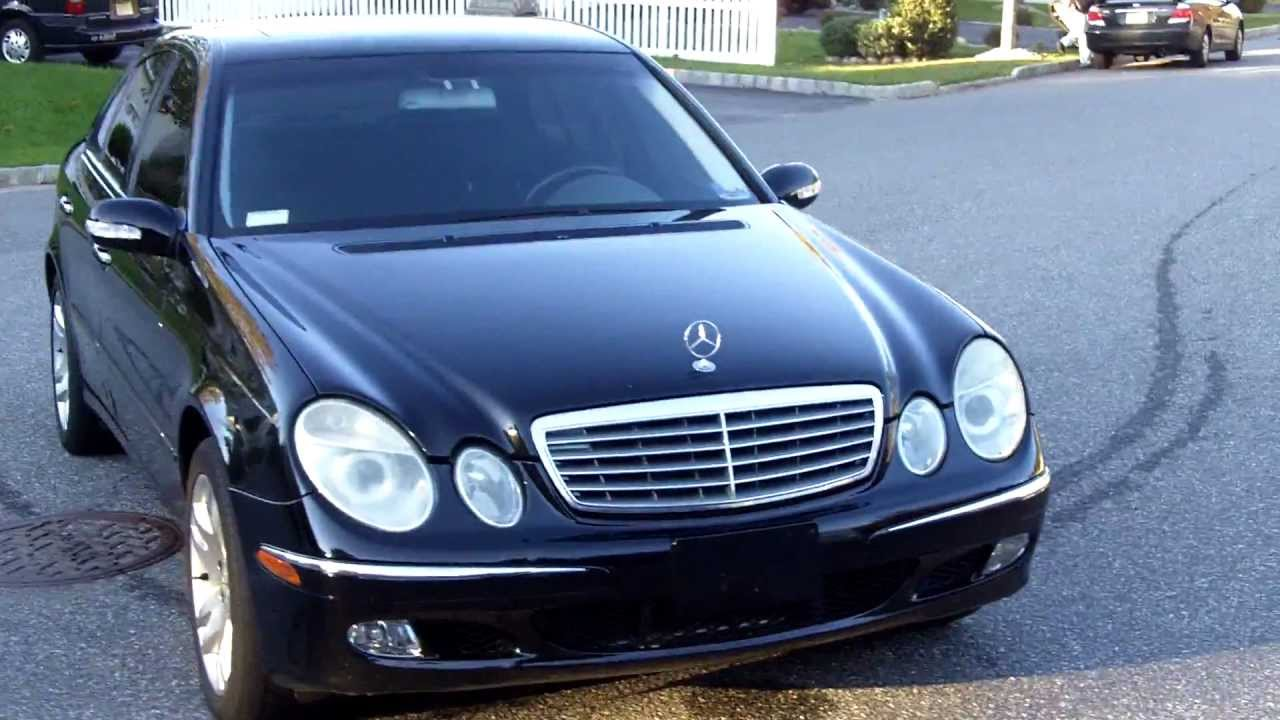 2003 mercedes benz e500 sport for sale youtube. Black Bedroom Furniture Sets. Home Design Ideas