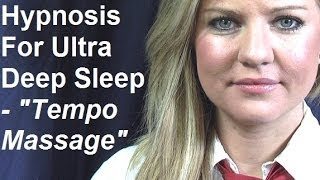 ASMR Hypnosis for Ultra Deep Sleep with Chelsea 3 - Tempo Massage  Full Session 美女催眠師