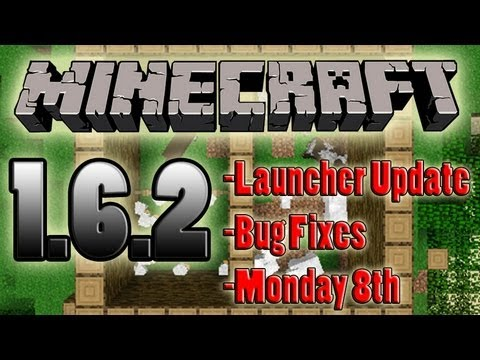 Minecraft 1.6.2 Pre Release Patch Update Monday 8th Release
