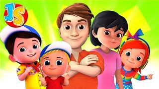 Finger Family Song For Kids | Nursery Rhymes & Baby Songs For Children By Junior Squad
