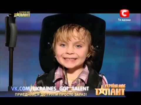 Украина мае талант 5 сезон - Аня и Оля Шкода