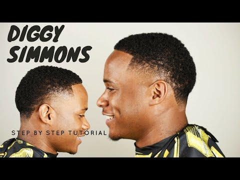 DIGGY SIMMONS HAIRCUT | Barber Tutorial | Step-By-Step