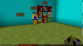 Hello neighbor Tutorial house (minecraft)