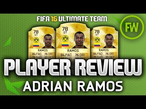 FIFA 16 - ADRIAN RAMOS (78) CHEAP BEAST PLAYER REVIEW! (FIFA 16 ULTIMATE TEAM)