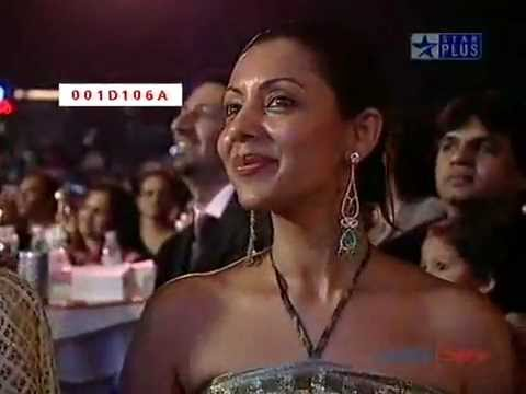 Shahrukh Khan LIVE (He Won Best Actor)