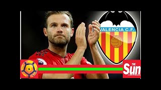 Manchester United star Juan Mata could be set for emotional return to old club Valencia