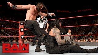 Roman Reigns vs. Elias - Intercontinental Championship Match: Raw, Nov. 27, 2017