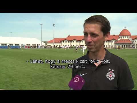 2019.08.07. - A Puskás Akadémia az idei TSC Cup legjobb csapata