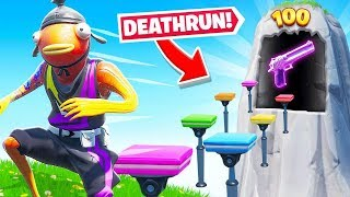 DEFAULT *100* LEVEL Run For LOOT in Fortnite!