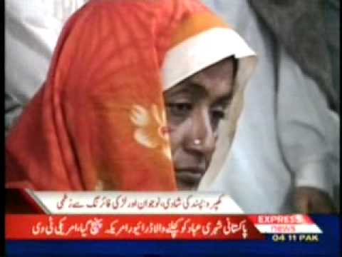 Firing In Khipro - Girl Boy Injured.wmv video