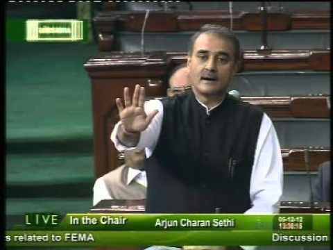 Praful Patel on FDI in Multi Brand Retail in Lok Sabha : 5th Dec 2012