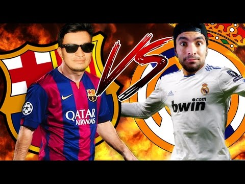 BARCELONA VS REAL MADRID - EL CLÁSICO - FIFA 16 - SERGIO GAMEPLAYER VS YESCAR