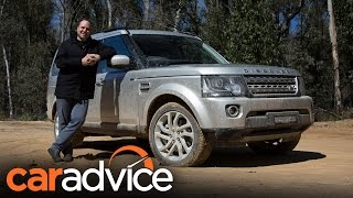 2016 Land Rover Discovery 4 Off-Road Review | CarAdvice