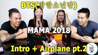 Bts 방탄소년단 Intro Perf Airplane Pt 2 2018 Mama In Hong Kong 181214