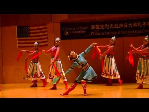 Mongolian dance Hulunbeier Prairie by Beijing Art Troupe