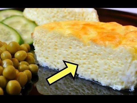 Всего Один ингредиент, который сделает омлет в два раза пышнее без всякой соды