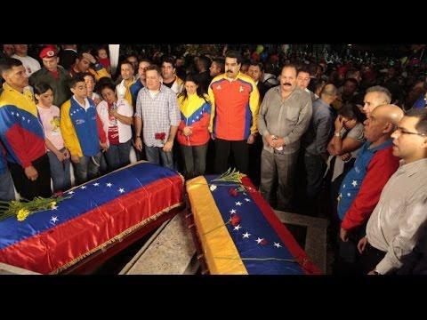 Nicolás Maduro contra el terrorismo imperialista. Entierro Robert Serra. La Noticia, VTV. Venezuela