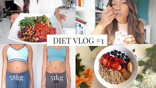 Diet Vlog -7kg | Healthy Low Calorie Snacks, Grocery Haul & More!