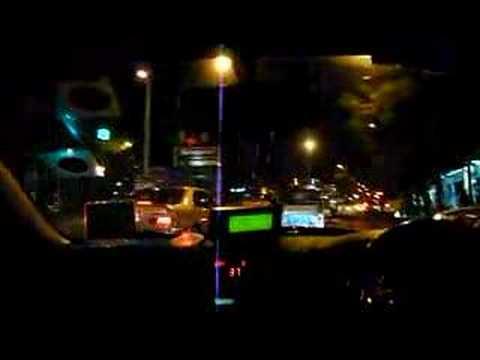 Night taxi in Bangkok