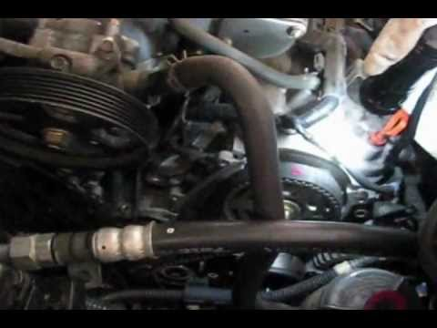 05 Honda pilot Timing belt Water pump replacement part 2