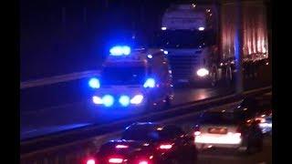 A1: Ambulance 20-143 + Prio 1: Politie-Noodhulp zijn met spoed onderweg naar een ongeval op de A58