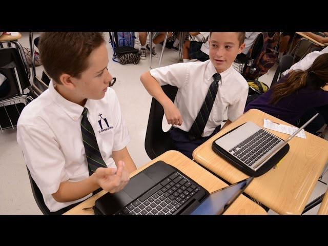 Case Study - St. Joachim School | SwimGrid | Chromebooks