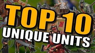 Civilization 6: Top 10 Unique Units [Civ 6 Gameplay Strategy]