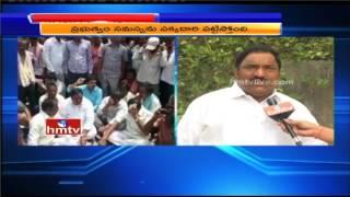 TTDP MLA Sandra Venkata Veeraiah Face to Face Over Allegations | Mirchi Farmers Protest in Khammam