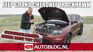 Jeep Grand Cherokee Trackhawk rijtest
