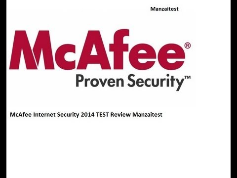 [Test] McAfee Internet Security 2014