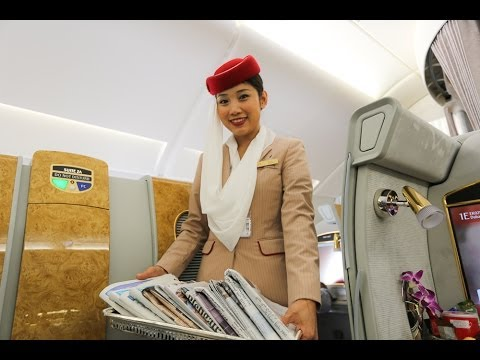 Emirates A380 First Class Suites. HD Experience