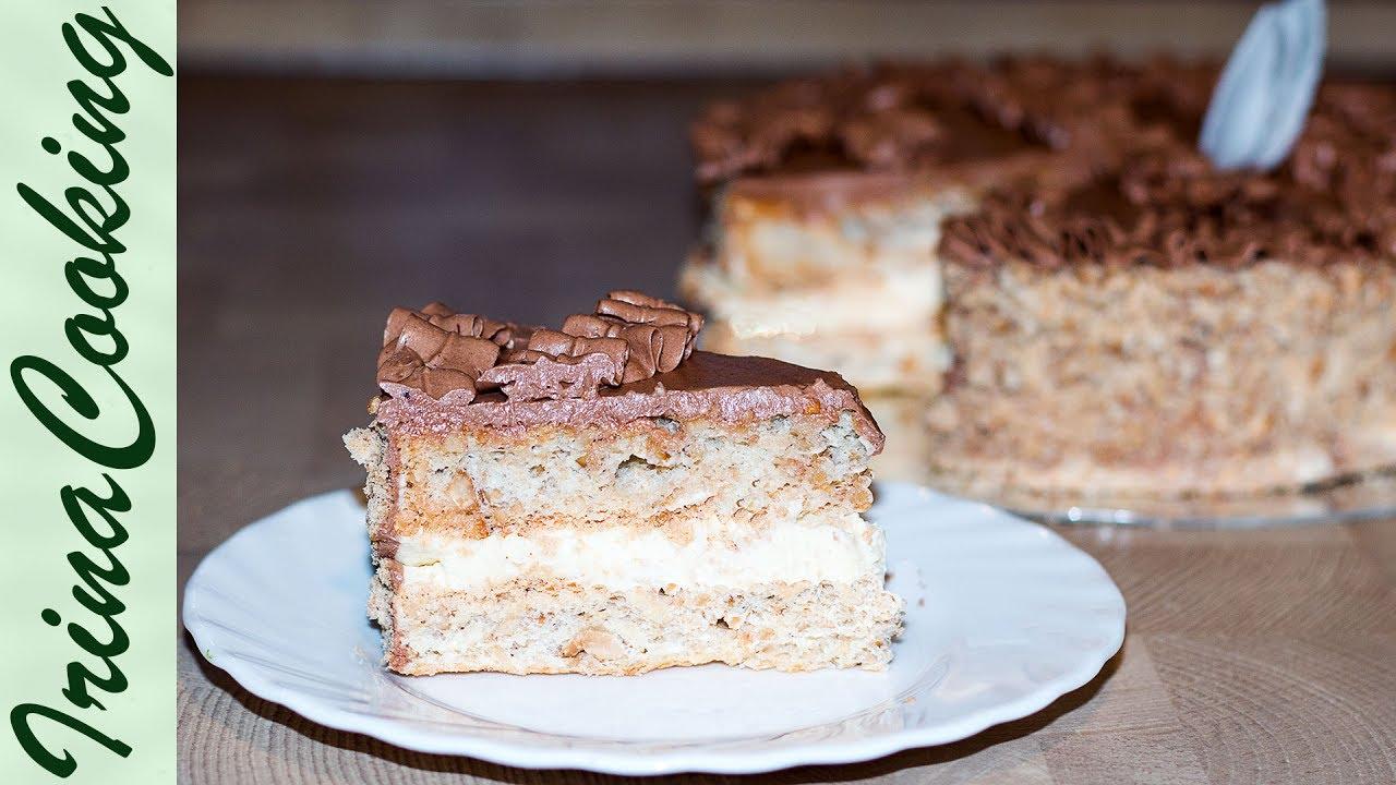Киевский торт с бисквитом рецепт