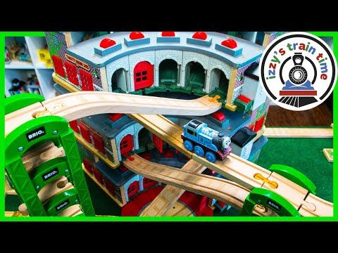 Thomas and Friends TRIPLE DECKER TIDMOUTH SHEDS