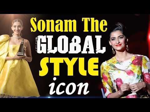 Sonam Kapoor || The Global Style Icon || At HT Most Stylish Award 2018