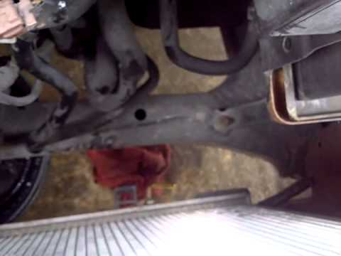 2005 Nissan Quest AC condenser replacement.