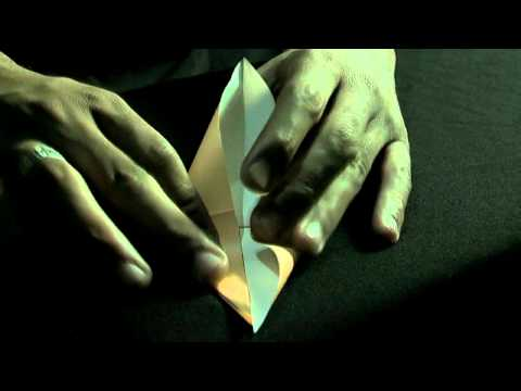 كيف تصنع طائر الكركي How to fold an origami crane