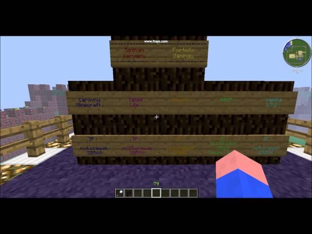 | Čarovný Minecraft | - ►Pozvánka na Čarovný MC server◄