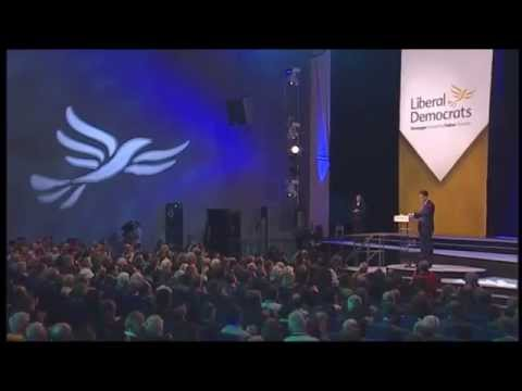 Nick Clegg's speech to autumn conference 2014