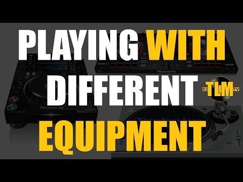 Playing with different equipment (CDJs & Rekordbox)