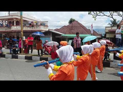 Drumband SMP N 1 Panyabungan 17 Agustus 2016