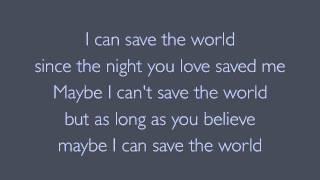 Watch Bon Jovi Save The World video