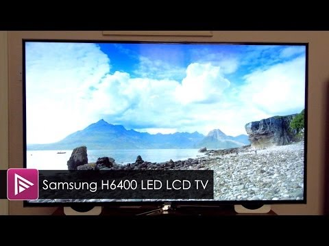 Samsung H6400 3D LED LCD TV Review
