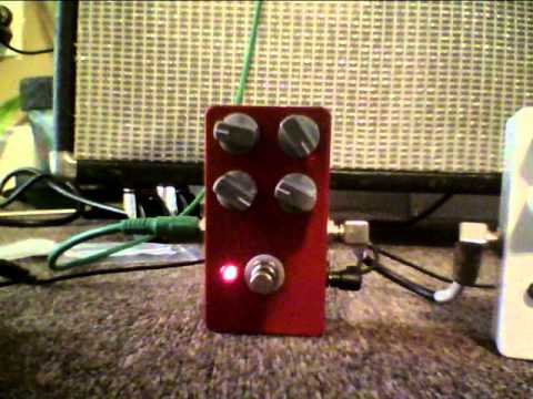 Ampeg in a Box Pedal- guitar effects- catalinbread sft