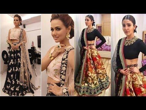 Colorful Bollywood Lehenga Designs 2018