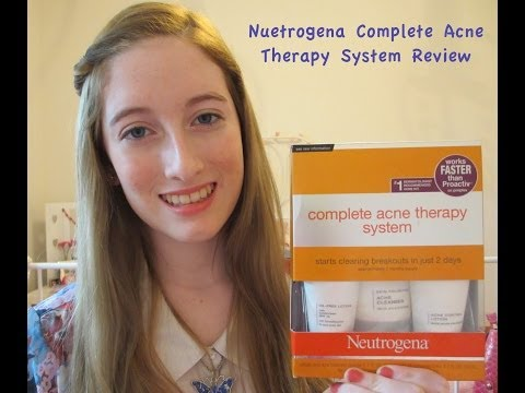 My Acne Cure - Neutrogena Acne Therapy System Review