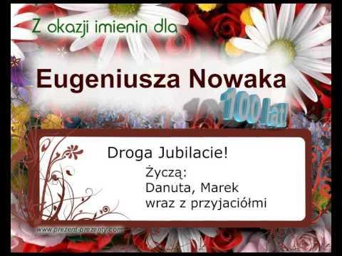 Eugeniusz, Piosenka Z Imieniem Jako Prezent