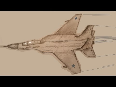 Зарисовка - Самолетик