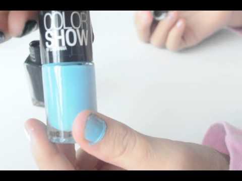 3 Ideas para pintar las uñas (Uñas cortas)